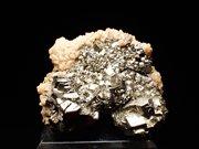 埼玉県秩父鉱山産 黄鉄鉱&苦灰石 (Pyrite & Dolomite/ Japan)
