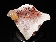 ドイツ産アメジスト、ヘマタイト&カルサイト (Amethyst, Hematite & Calcite / Germany)