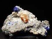 アフガニスタン産ラズライト、フロゴパイト&パイライト (Lazurite, Phlogopite & Pyrite / Afghanistan)
