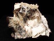 ポーランド産スモーキークォーツ、エピドート&マイクロクリン (Smoky Quartz, Epidote & Microcline / Poland)