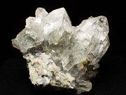 パキスタン産クォーツ、チタナイト&クローライト (Quartz, Titanite & Chlorite / Pakistan)