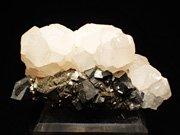 コソボ産アーセノパイライト&カルサイト (Arsenopyrite & Calcite / Kosovo)