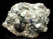アフガニスタン産ドラバイト−ウバイト&サファイア (Dravite-Uvite & Sapphire / Afghanistan)