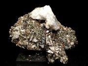 コソボ産パイライト <ピロータイト仮晶>&アーセノパイライト (Pyrite Pseudomorph after Pyrrhotite & Arsenopyrite / Kosovo)