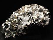 コソボ産アーセノパイライト、キャルコパイライト&クォーツ (Arsenopyrite, Chalcopyrite & Quartz / Kosovo)