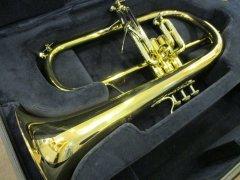 委託品 Bach フリューゲルホルン 183GB ゴールドブラス