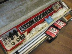 委託品 グヤトーン スチールギター HG-306 付属品あり