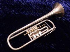 【一か月レンタル】初代モンケ ロータリーB♭トランペット Josef Monke 【服部管楽器】