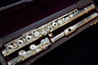 【一か月レンタル】ムラマツ DS-RCE 総銀製フルート リングキー Eメカ付き 【服部管楽器】