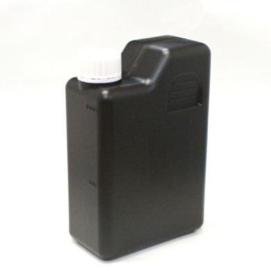 プラスチック容器 1L 遮光黒 ラクダ型 封印キャップ中栓仕様