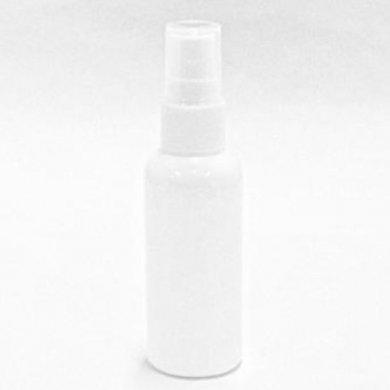 スプレーボトル PET 50mL 【 スプレー:ホワイト ボトル:遮光白 】