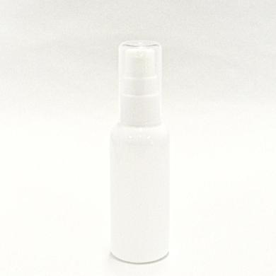 ポンプボトル PET 50mL 【 ポンプ:ホワイト ボトル:遮光白 】