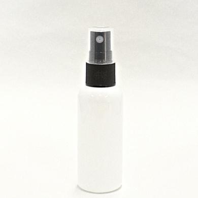 スプレーボトル PET 50mL 【 スプレー:ブラック ボトル:遮光白 】【30個/ロット 送料無料】
