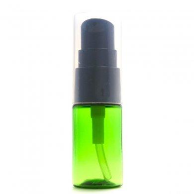 ポンプボトル 10mL PET グリーン【ポンプ:ブラック】