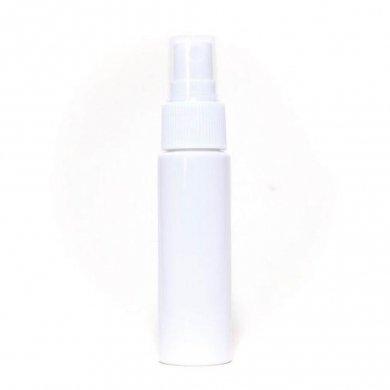 スプレーボトル 30ml PET ストレートボトル [ ボトル:遮光白 / スプレー:ホワイト ] [ 100個入り/ロット 送料無料 ]