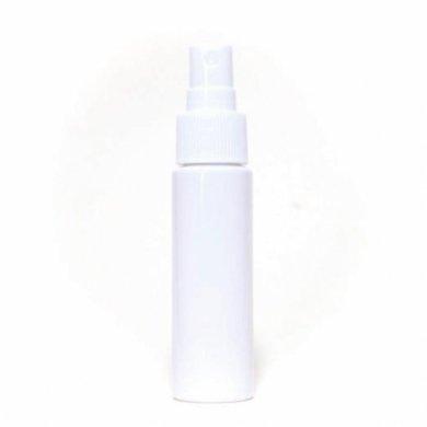 スプレーボトル 30ml PET ストレートボトル [ ボトル:遮光白 / スプレー:ホワイト ] [ 300個入り/ロット 送料無料 ]