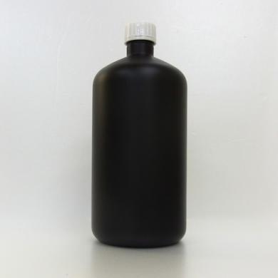 プラスチック容器 1L 遮光黒 封印キャップ
