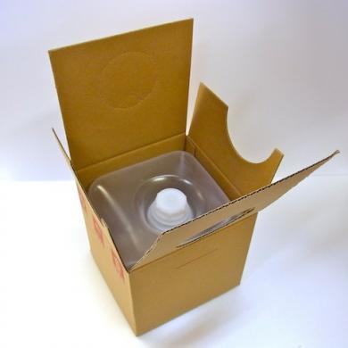 バロンボックス 5L 段ボール コック付き [ 10個/ロット 送料無料 ][在庫セール品20%OFF]