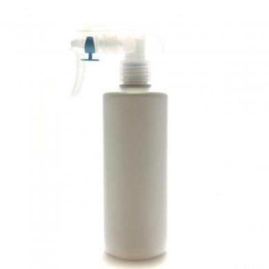 蓄圧式トリガースプレー 300mL PE ホワイト ストレートボトル [ トリガー:半透明 (蓄圧式) ]