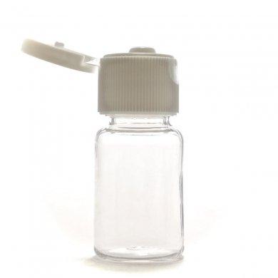 プラスチック容器 10mL【ヒンジキャップ:ホワイト】