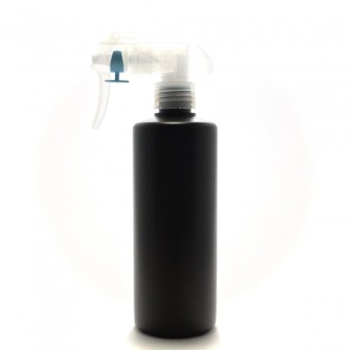 蓄圧式トリガースプレー 300ml PE [ ストレートボトル:遮光黒 ][ 192個入り/ロット 送料無料 ]