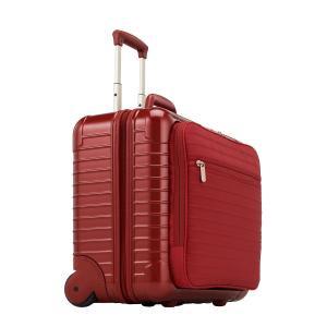 リモワ サルサデラックスハイブリッド ビジネストローリー 840.50.53.2 【TSA】 863.50 42L レッド 2輪