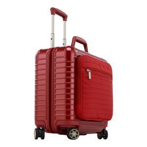 リモワ サルサデラックスハイブリッド ビジネストローリー  840.40.53.4 【TSA】 863.42 30L レッド 4輪