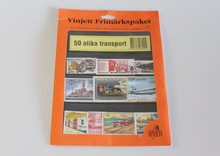 スウェーデン使用済み切手コレクション
