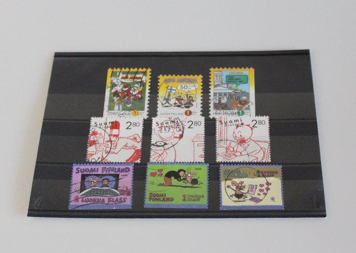フィンランド使用済み切手コレクション