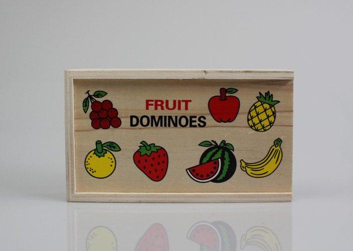 フィンランドでみつけた木製ドミノカード
