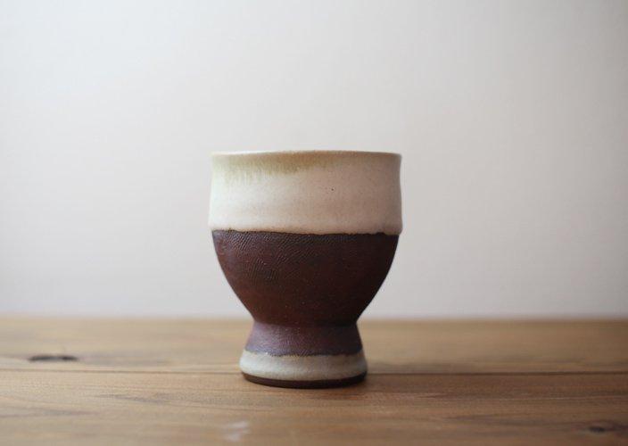 遠野秀子さんのうつわ 古代シリーズ 足付きカップ