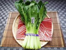 〈京都産〉小松菜(嵯峨産・他)/クール便
