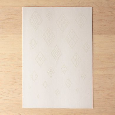 Whiteポストカード