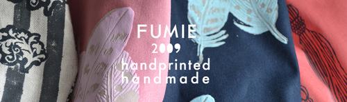 FUMIE2009 -Handprinted&Handmade Bags-