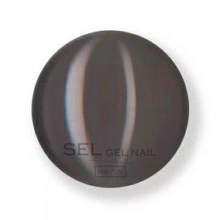 【SELGELNAIL】カラージェル5002M<マットなグレーがかったダークブラウン>