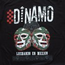 DINAMO MEXICO TOUR T-SHIRTS LUCHA GREEN Mサイズ