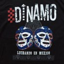 DINAMO MEXICO TOUR T-SHIRTS LUCHA BLUE Mサイズ