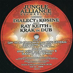 DIALECT & KOSINE / GOT TO BE CONSCIOUS FEAT.KING GENERAL (RAY KEITH VIP MIX)