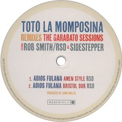 TOTO LA MOMPOSINA / REMIXS THE GARABOTO SESSIONS
