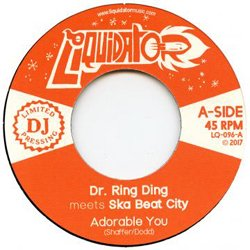 DR RING DING meets SKA BEAT CITY / ADORABLE YOU