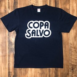 COPA SALVO ロゴ T-SHIRTS : NAVY X WHITE