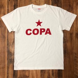 COPA SALVO ☆COPA T-SHIRTS : WHITE X RED