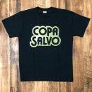 COPA SALVO ロゴ T-SHIRTS : BLACK X GOLD