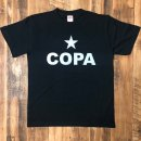 COPA SALVO ☆COPA T-SHIRTS : BLACK X SILVER
