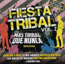 VARIOUS/FIESTA TRIBAL 2 - MIX DE DJ GELO
