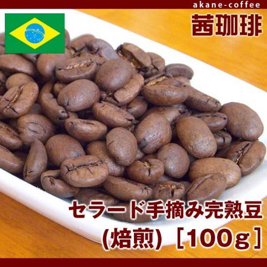 セラード手摘み完熟豆(焙煎)[100g][南米/ブラジル]