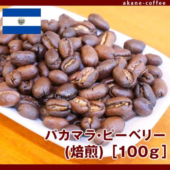 パカマラ(焙煎)[100g][中米/ニカラグア]