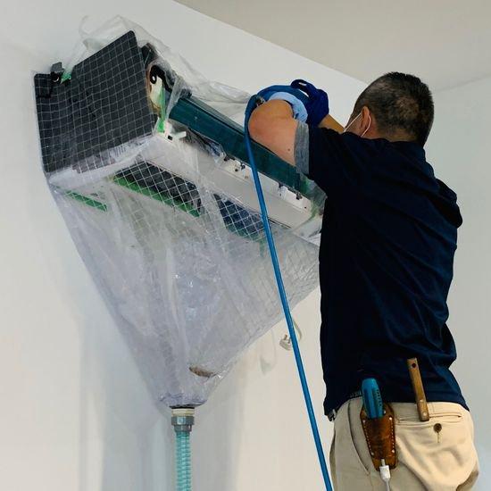 【一般・オープン・メッシュ】壁掛用エアコン洗浄シートV3 SA-N08M