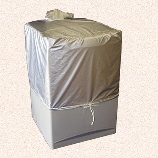 洗濯機カバー(二槽式ハーフタイプ:50L×80W×50H)