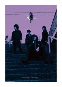 KEEL ポストカード no17, no18, no19